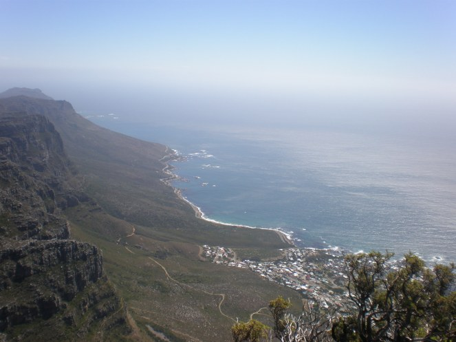 Cape Town from the Table Mountain 02