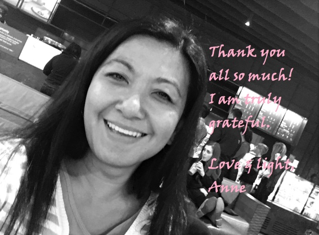 Gratefully yours (Anne)
