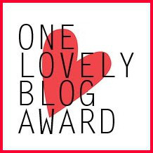 Award - One Lovely Blog